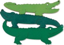 George Luck Layered Crocodiles Puzzle