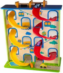 Crazy Curve Wooden Carpark Toy