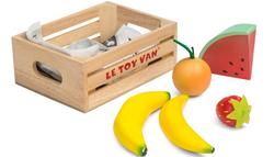 le toy van honeybake wooden fruit crate