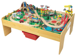 KidKraft Adventure Town Railways Set and Table