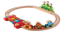 Hape Music and Monkeys Railway Set