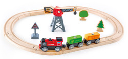 Hape Cargo Delivery Loop electric train set