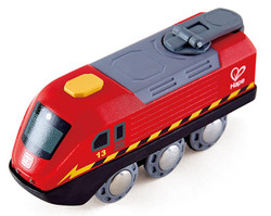 Hape Crank Powered Train Set