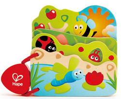 Hape Baby's Bug Book Set