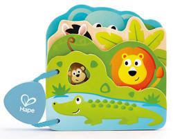 Hape Baby's Wild Animal Book Set