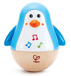 Hape Penguin Musical Wobbler Set