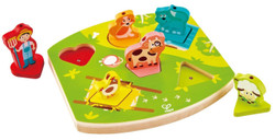 Hape Farmyard Sound Puzzle  Set
