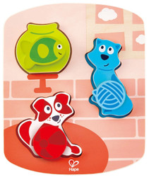 Hape Dynamic Pet Puzzle Set
