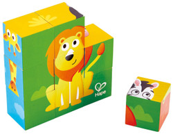 Hape Jungle Animal Block Puzzle Set