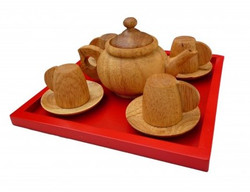 Qtoys Japanese Tea Set