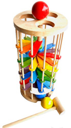 Qtoys Pound A Ball Tower Set