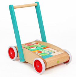 Tenderleaf Toys Wagon with Blocks Set