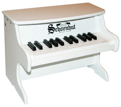 Schoenhut White 25 Key First Piano Set