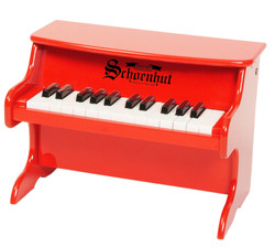 Schoenhut Red 25 Key First Piano Set