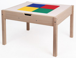Reversible Lego & Activity Wooden Play Table