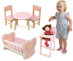 tenderleaf sweetiepie doll furniture set