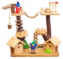 Qtoys Multi Level Treehouse Set