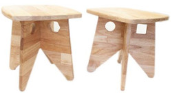Retro Kids Stool Set of 2
