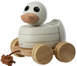 Hevea - Kawan Rubberwood Stacker And Pull Toy