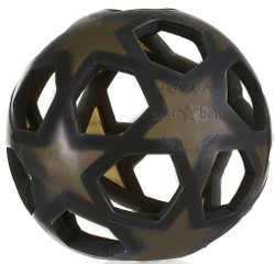 Hevea Rubber Star Ball - Charcoal