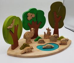 Australian Wildlife and Landscape Toy Set