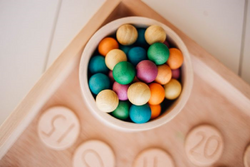 Qtoys Wooden Balls Set of 50