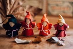 Qtoys Gnome Family