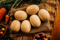Qtoys Jumbo Wooden Eggs