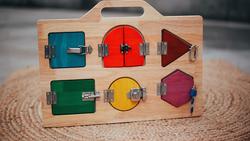 Qtoys Lock Activity Board