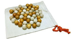 Qtoys 2 Tone Wooden Balls Set of 50