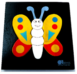 Qtoys butterfly mini puzzle