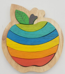 Qtoys Delicious Apple Puzzle