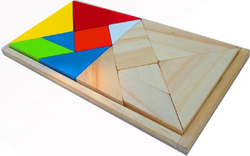 Qtoys Double Tangram