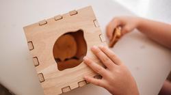 Qtoys Fruit Puzzle Box