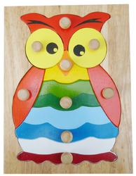 Qtoys Hooty owl knob puzzle