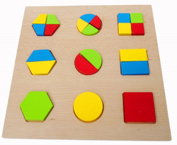Qtoys Geo Shape Puzzle