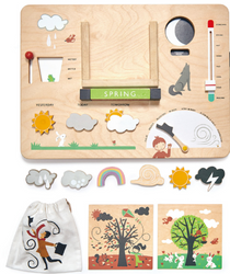 Tenderleaf Wooden Weather Station