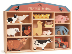 Tenderleaf Wooden Farmyard Animals Set