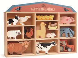 Tenderleaf Wooden Farmyard Animals Set