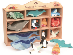 Tenderleaf 1 Piece Coastal Animals CDU Set