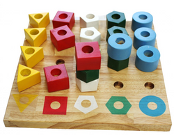 Stacking Pegs