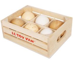 Le Toy Van Honeybake Farm Eggs in Crate