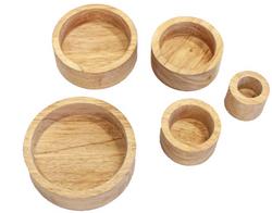 Qtoys Natural Stacking Bowls