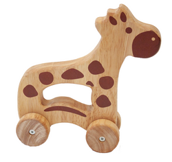 Qtoys Giraffe Push Toy