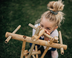 Qtoys Outdoor Bamboo Construction