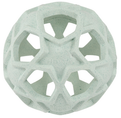 Hevea Rubber Star Ball - Upcycled -Mint