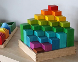 Qtoys Rainbow Engineering Blocks