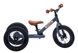 Trybike Grey Trybike, Brown Seat and Grips (3 wheel)