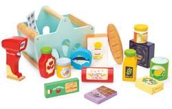 Le Toy Van Honeybake Groceries & Scanner