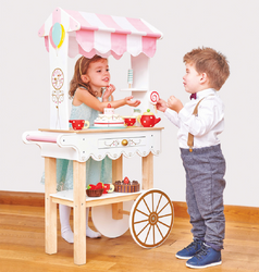Le Toy Van Honeybake Tea Time Trolley3